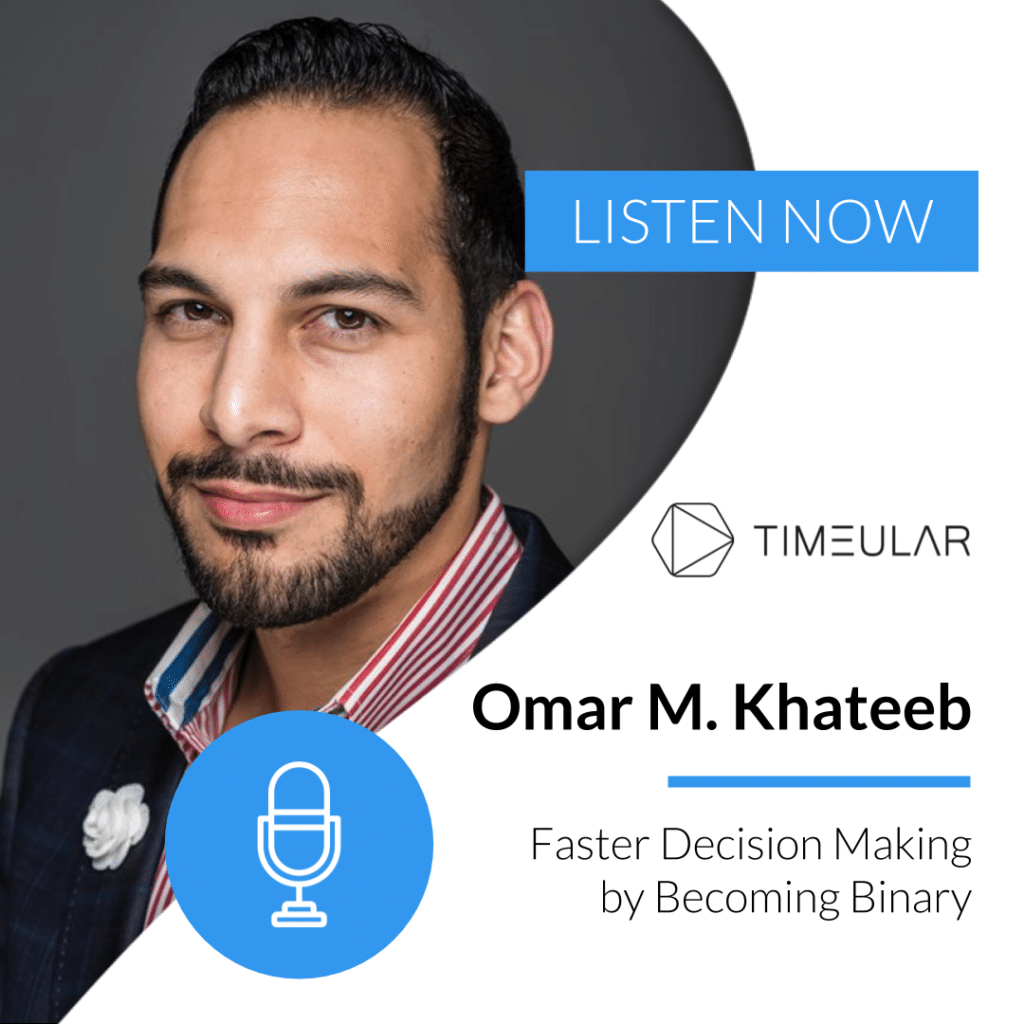 Timeular Productivity Masterminds podcast Omar M. Khateeb