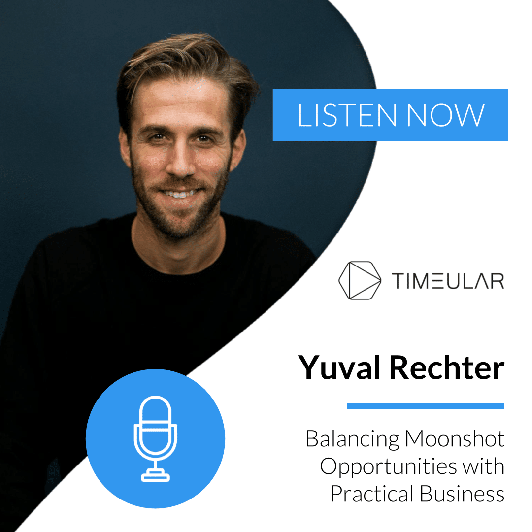 Timeular Productivity Masterminds Podcast Yuval Rechter