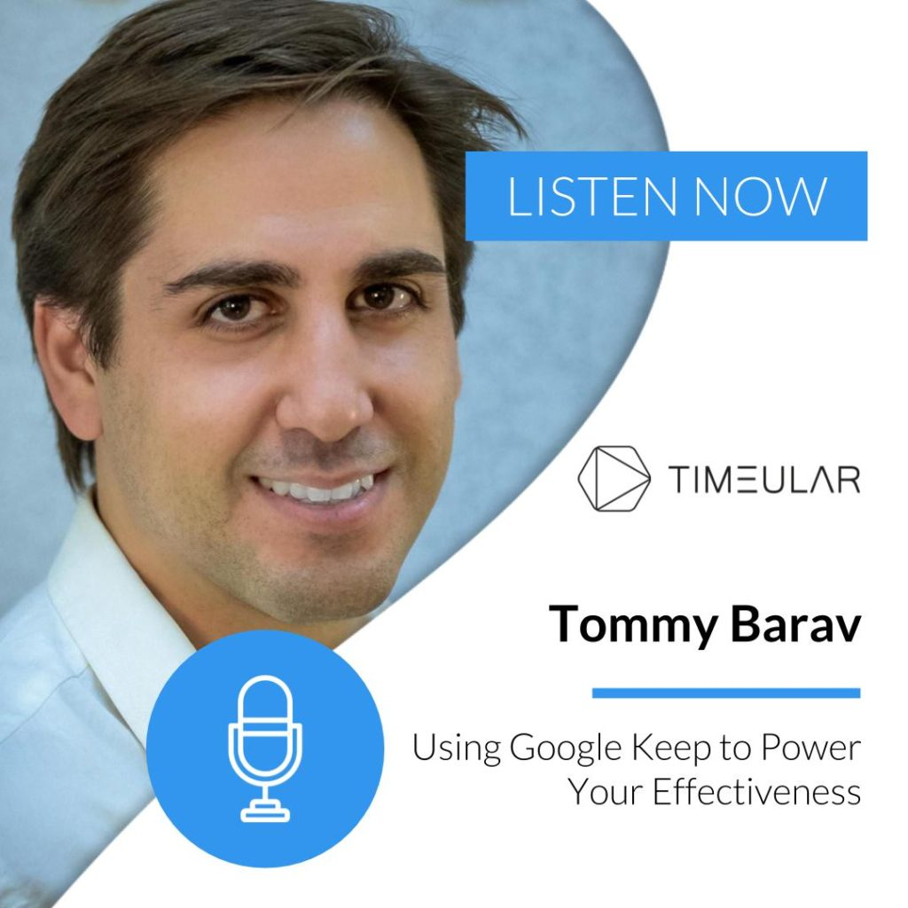 Productivity Masterminds Tommy Barav