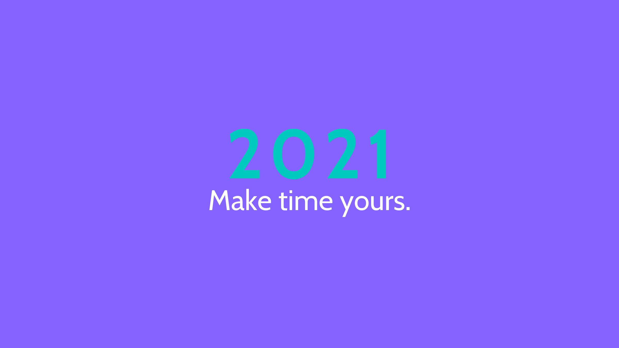 Guidance on how to unlock your time and be more productive in 2021.