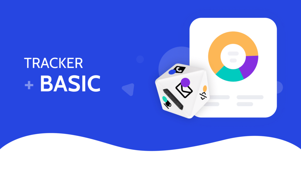 Timeular Tracker + Basic software. Get unlimited tracking (desktop & mobile apps) and upgrade to Pro at any time.