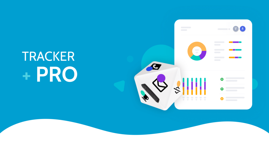 Timeular Tracker + Pro software. Unlimited tracking with team features, advanced analytics, data export and priority support.